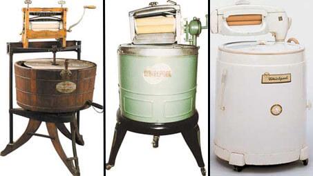 изобретение стиральной машины
